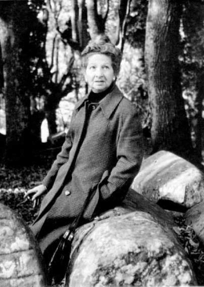 Cecilia G. de Guilarte fotografiada per Iñaki Linazasoro (1979)