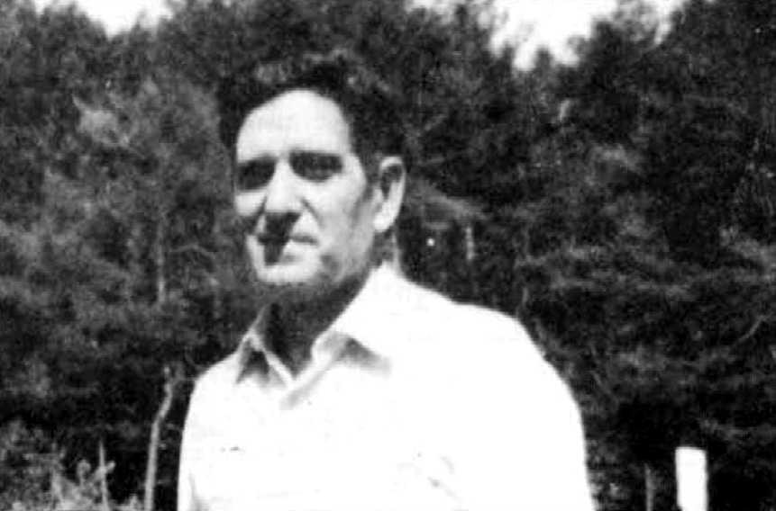 Salvador Gumà Clavell durant el Congrés Esperantista de Saragossa (San Juan de la Peña, 1967)
