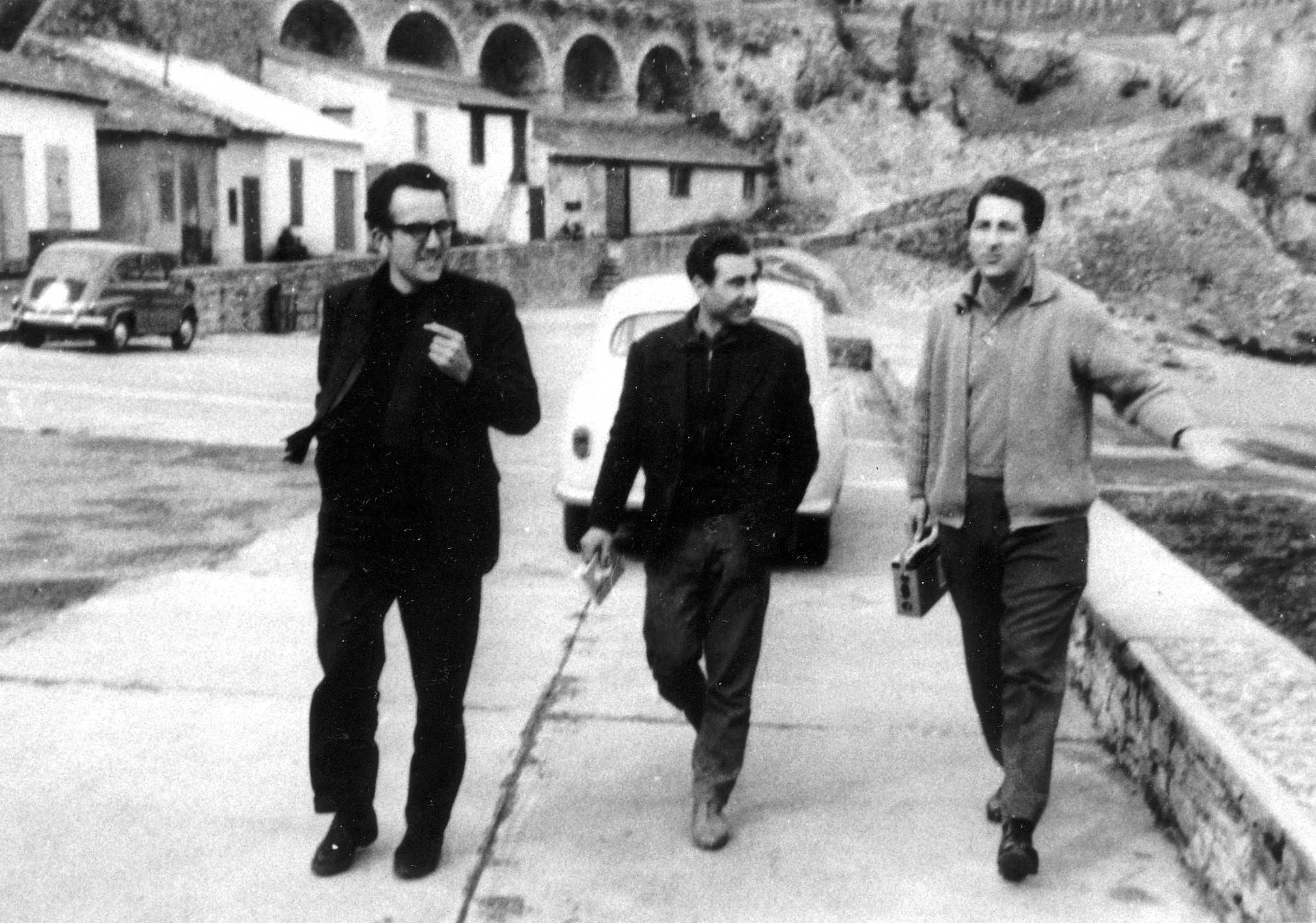 D'esquerra a dreta: Salvador Gurucharri Ochoa, Antonio Ros i Octavio Alberola Suriñach (Biarritz, 1962)