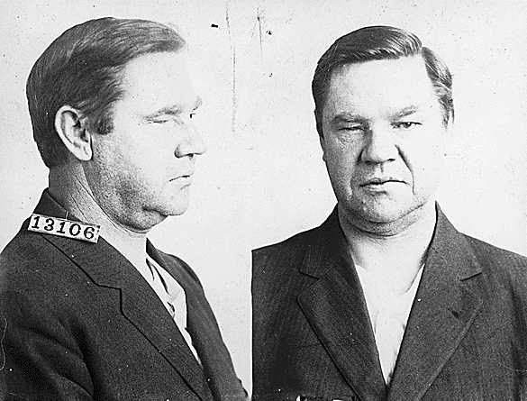 Fitxa de Bill Haywood. Penitenciaria de Leavenworth (Kansas, 1918)