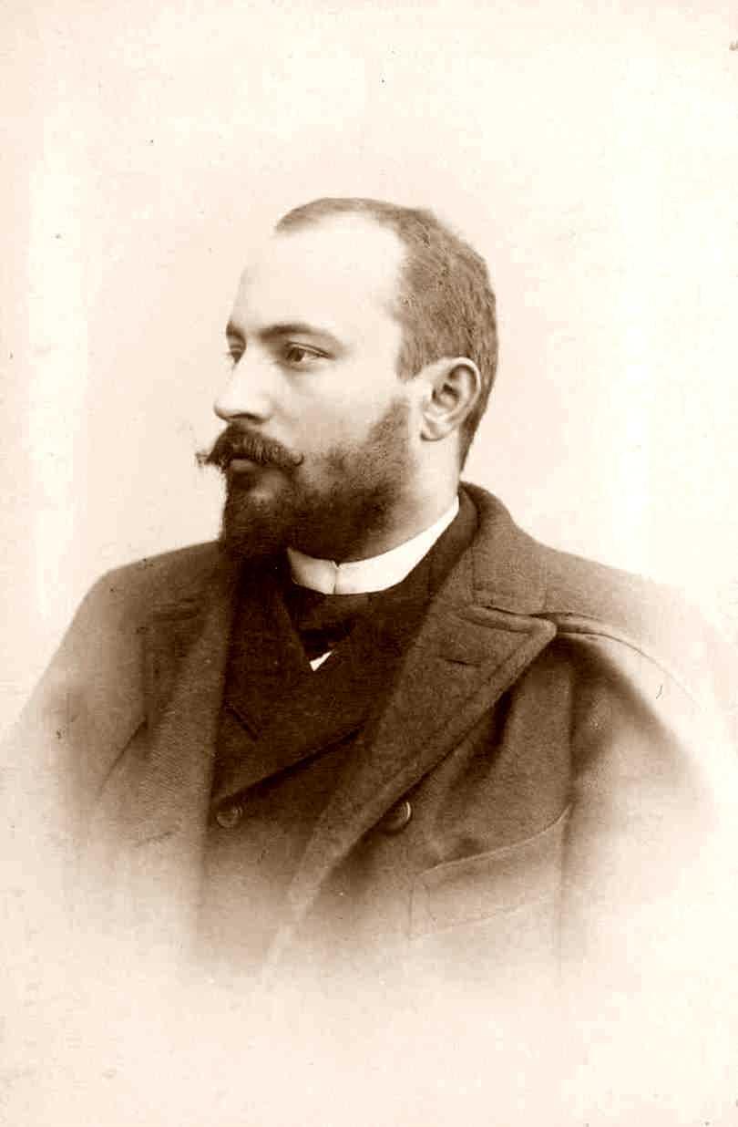 Louis Héritier fotografiat per O. Meistring a Ginebra [IISH]