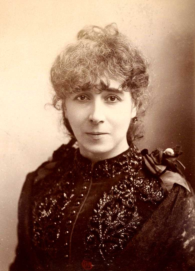 Marie Huot fotografiada per Félix Nadar