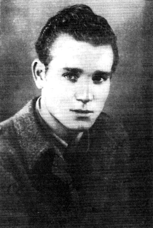 Juan Andrés Álvarez Ferreras quan estava presoner de les tropes italianes (Renteria, 1939)