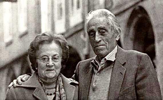 José Iglesias Paz y Joaquina Dorado (noviembre de 2005)