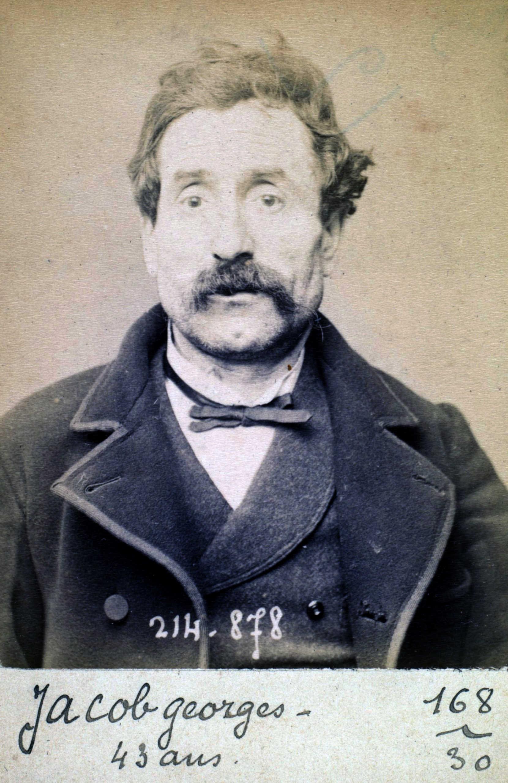 Foto policíaca de Georges Jacob (27 de febrer de 1894)