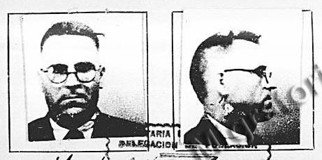 Fotografia de José Alberola del Servei de Migració mexicà (1939) - josealberola04