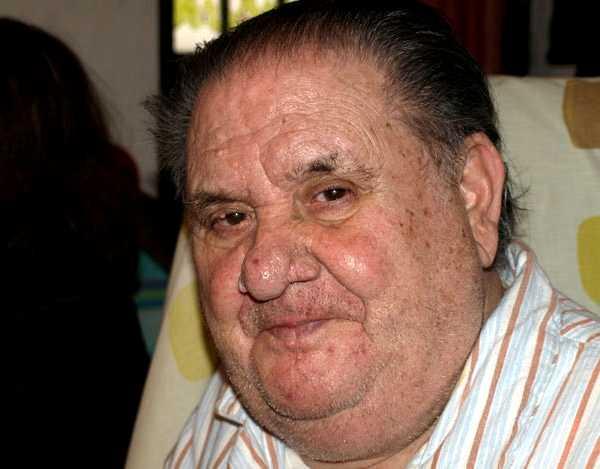 Juan el Camas en el seu 80è aniversari