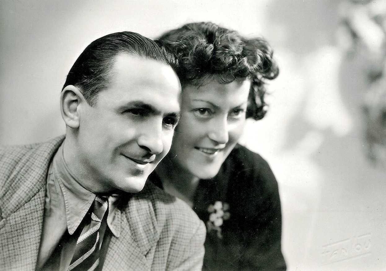 Paul Lapeyre i sa companya Jeanne Pantais