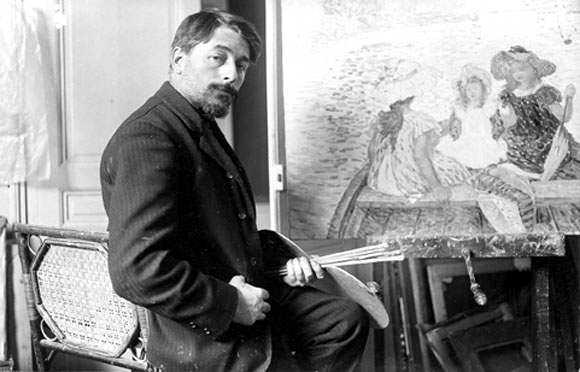 Henri Lebasque fotografiat per Paul Dornac en 1906