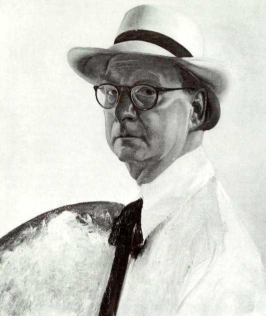 Autoretrat de Chris Lebeau (ca. 1935-1940)