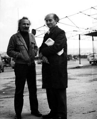 Enrico Arrigoni (derecha) y Franco Leggio (Ragusa, 1973)