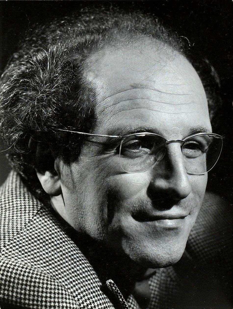 Léo Ferré fotografiat per Cayet (1960)