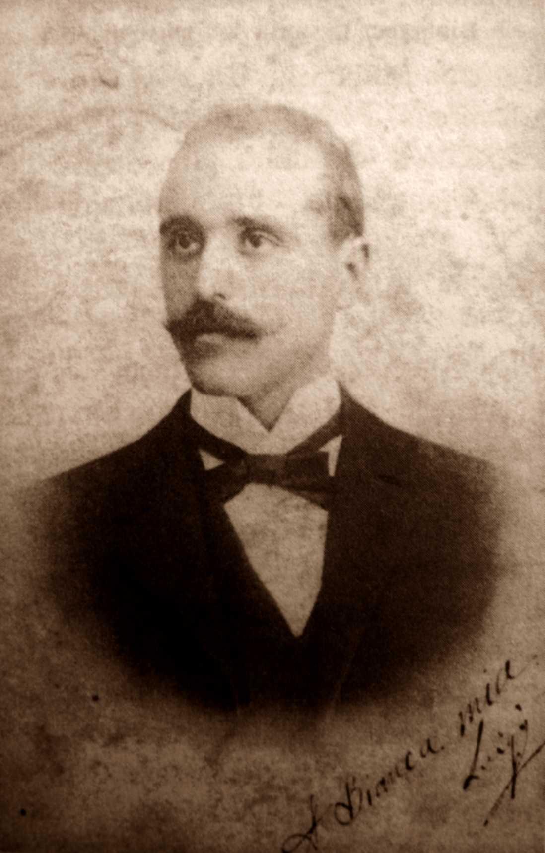 Luigi Fabbri fotografiat per Coniugi Canè