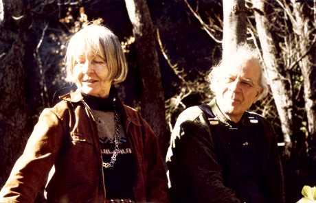 Madeleine Lamberet i son company Georges Balkanski fotografiats per George Makari (Eus, 1980)