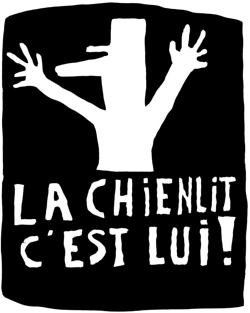 """Cartell de Maig del 68: """"La 'chienlit' ets tu!"""""""