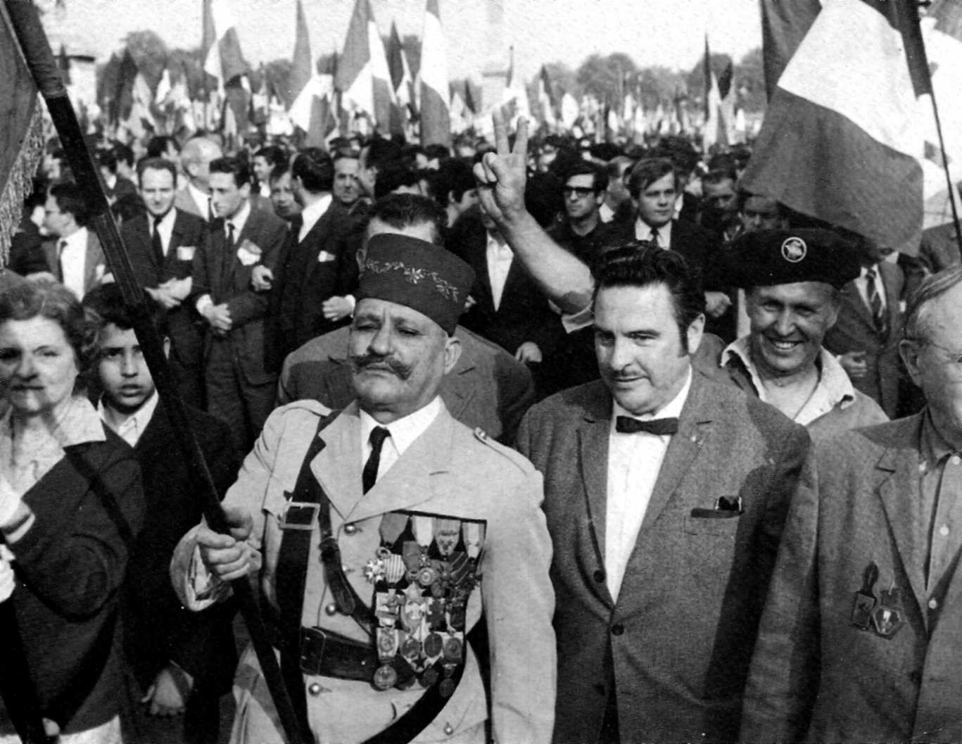 Manifestació de suport al general De Gaulle (30 de maig de 1968)
