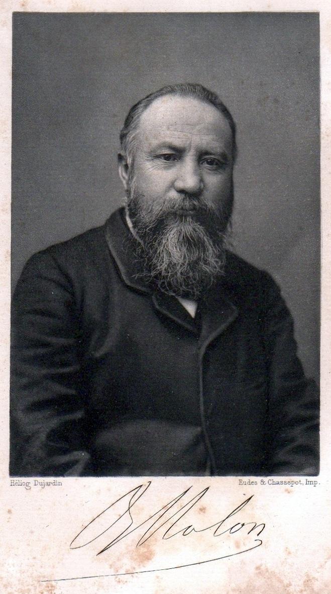 Benoît Malon heliografiat per Dujardin