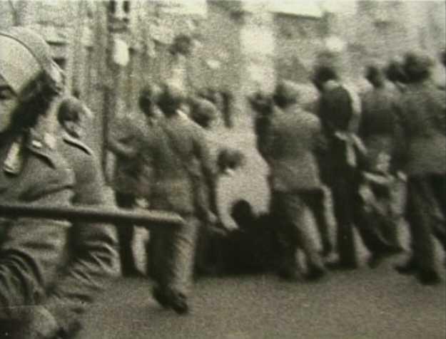 Moment de la detenció de Franco Serantini