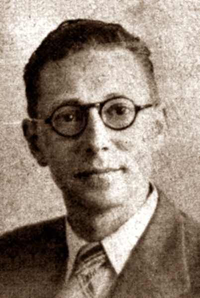 Manuel Salgado acabat d'arribar a Londres (1939)