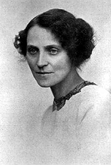Dora Marsden, fotografiada per G. Beresford