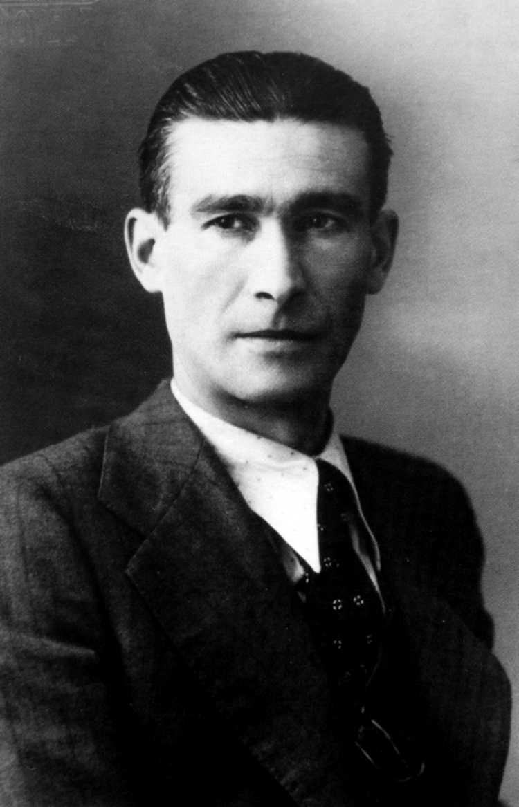 Horacio Martínez Prieto (març de 1937)