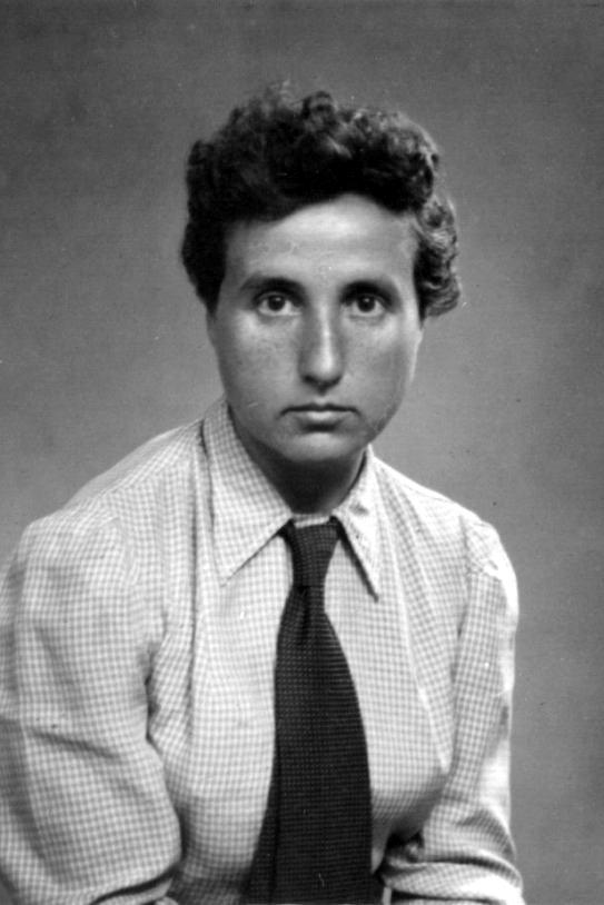 La periodista Anna Maria Martínez Sagi (anys trenta)