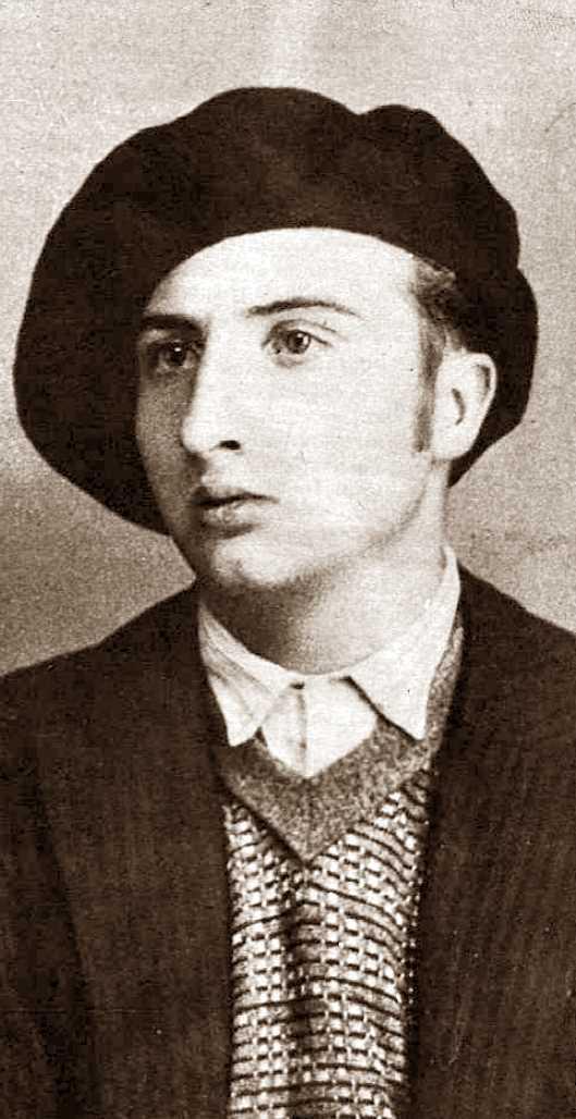 Josep Martorell Virgili fotografiat per Torrents (1935)