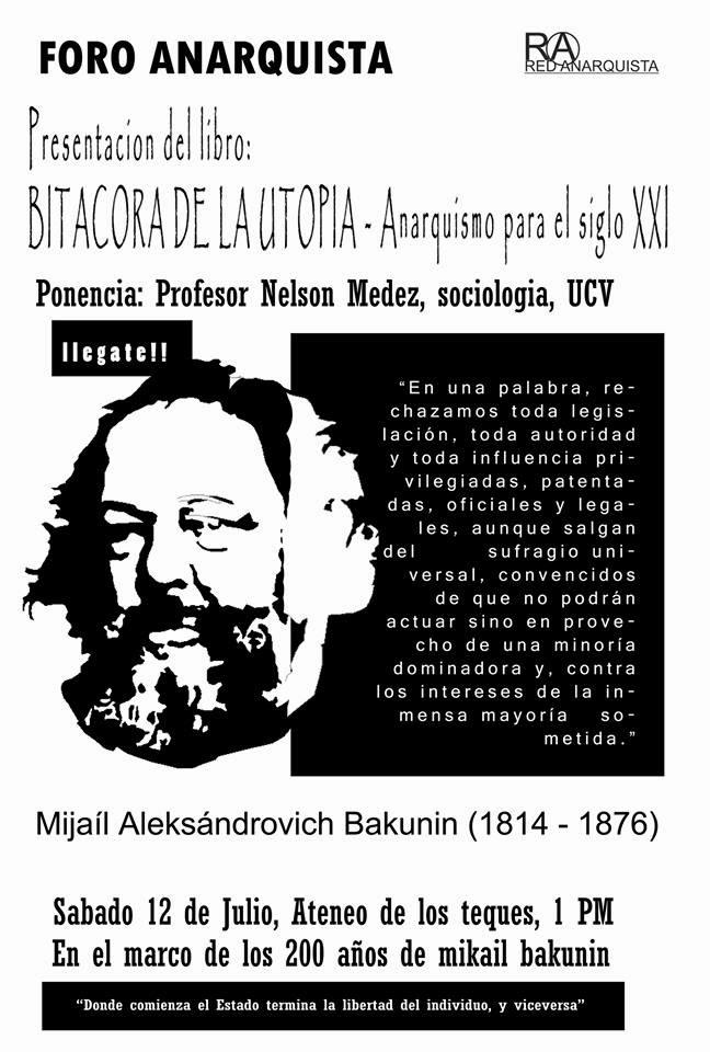 Cartell de la presentació del llibre
