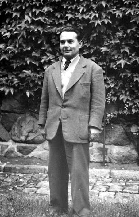 Bernard Merino Peris en el Congrés de la SAC (Estocolm, 1953)