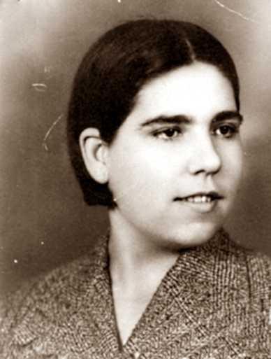 Isabel Mesa Delgado en els anys trenta