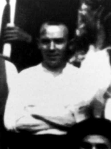Florentino Monroy Quirós en una excursió anarquista (estiu de 1933)