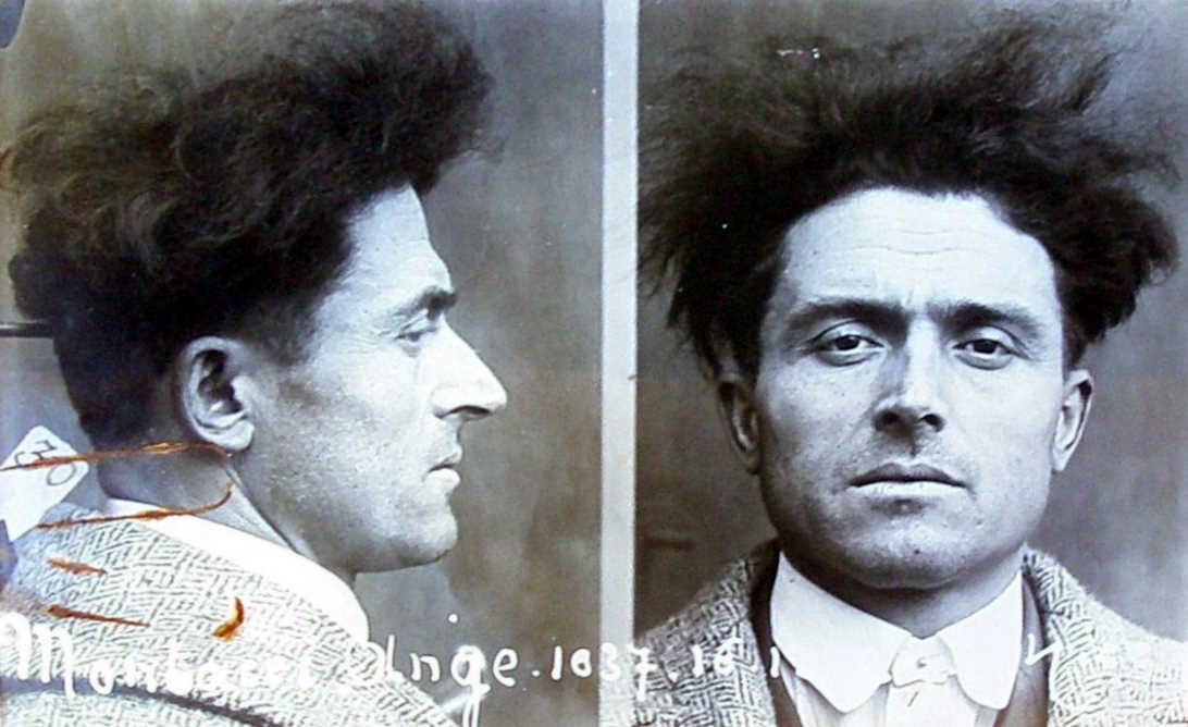 Foto antropomètrica d'Angelo Montacci de la policia francesa (1935)