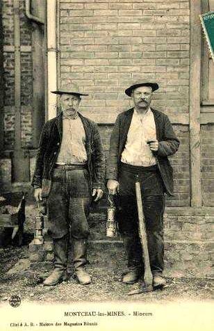 Miners de Montceau-les-Mines