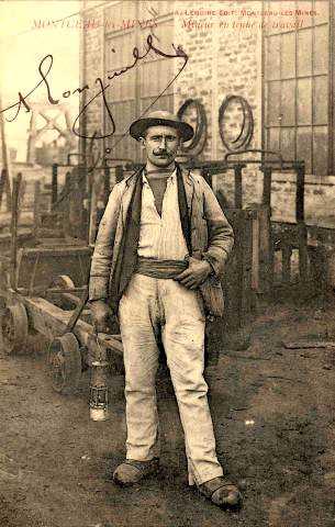 Miner de Montceau-les-Mines