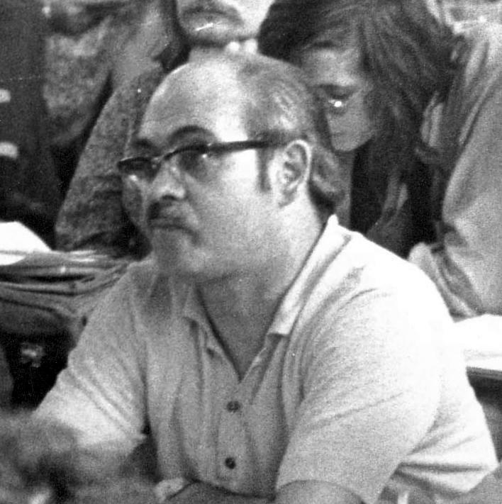 José Muñoz Congost en el Congreso Internacional de París (1971)
