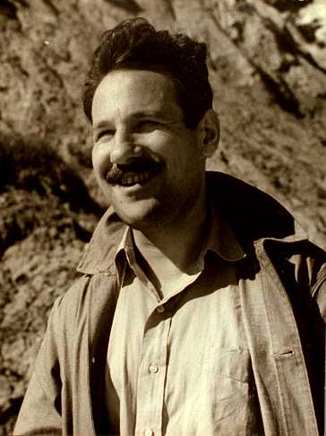 Barnett Newman fotografiat per Aaron Siskind (ca. 1935)