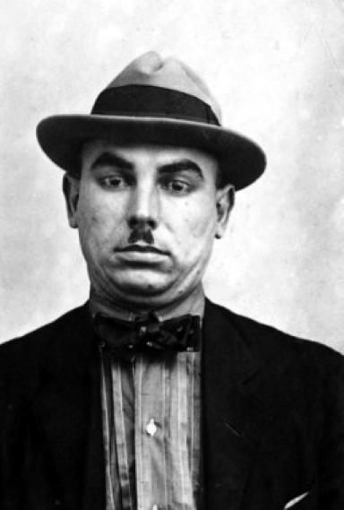 Foto policíaca de Lluís Nicolau Fort (ca. 1923)