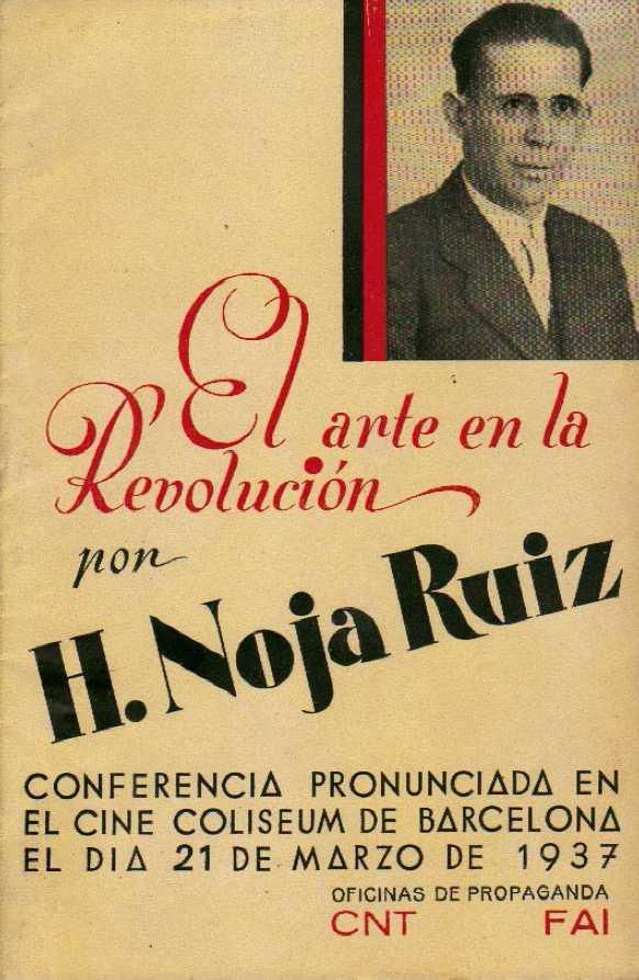 Portada del fullet amb el text de la conferència (1937)