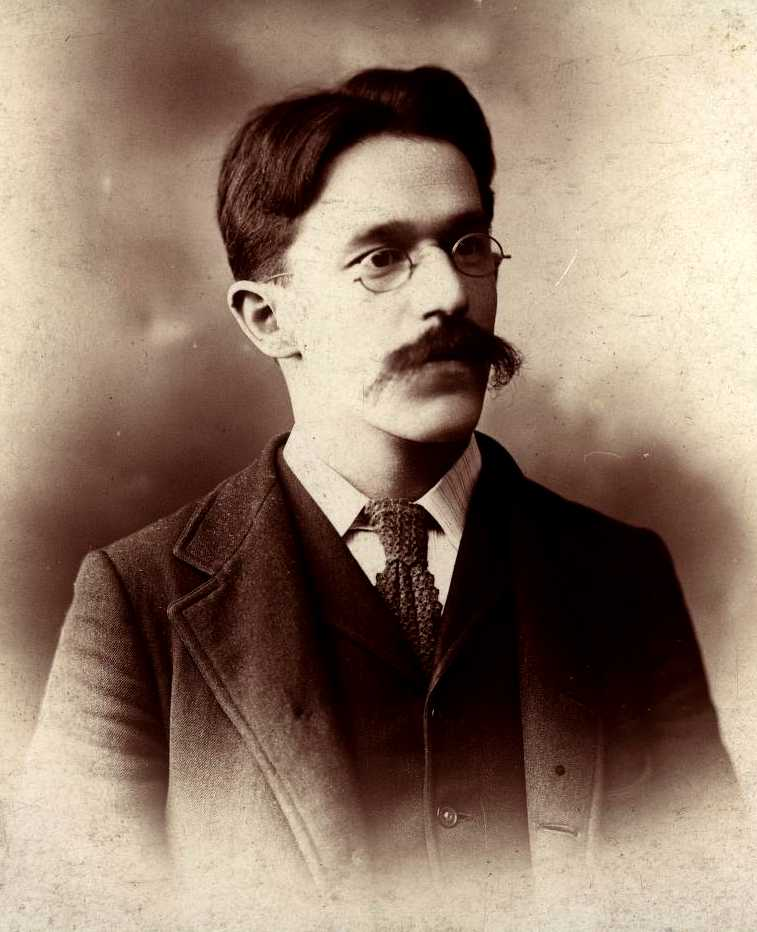Carl Nold fotografiat per Willybad (Chicago, 11 de novembre de 1899)