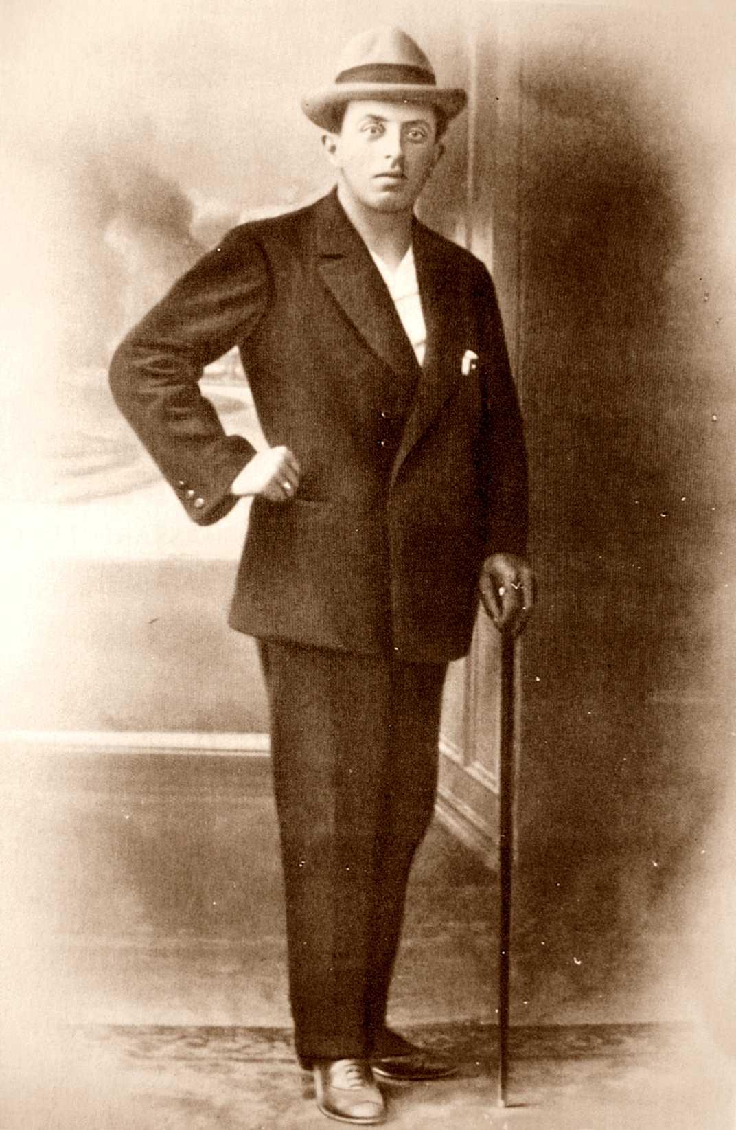 Renzo Novatore (ca. 1910)