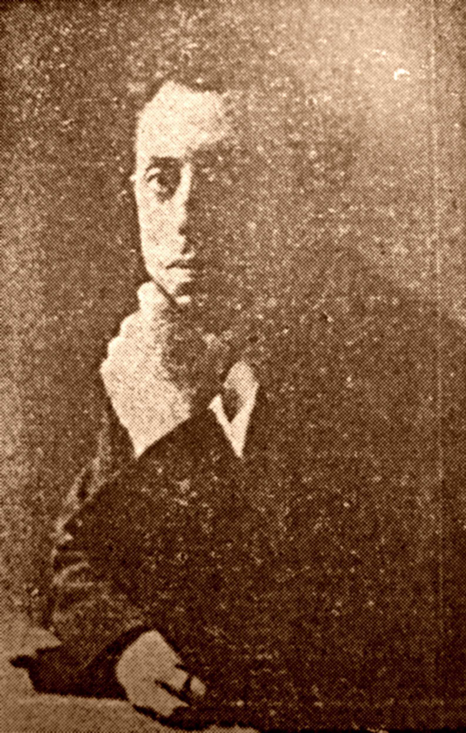 Renzo Novatore (finals de la dècada dels deu)