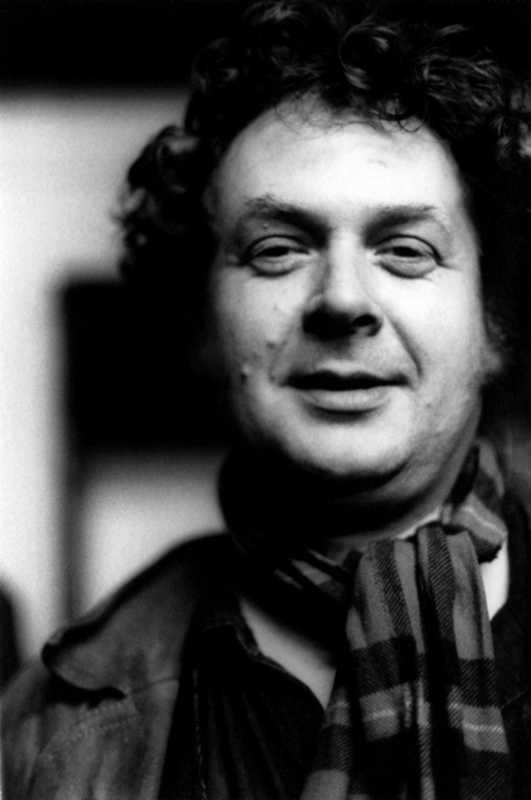 Jeff Nuttall fotografiat per Layle Silbert (15 de maig de 1972)