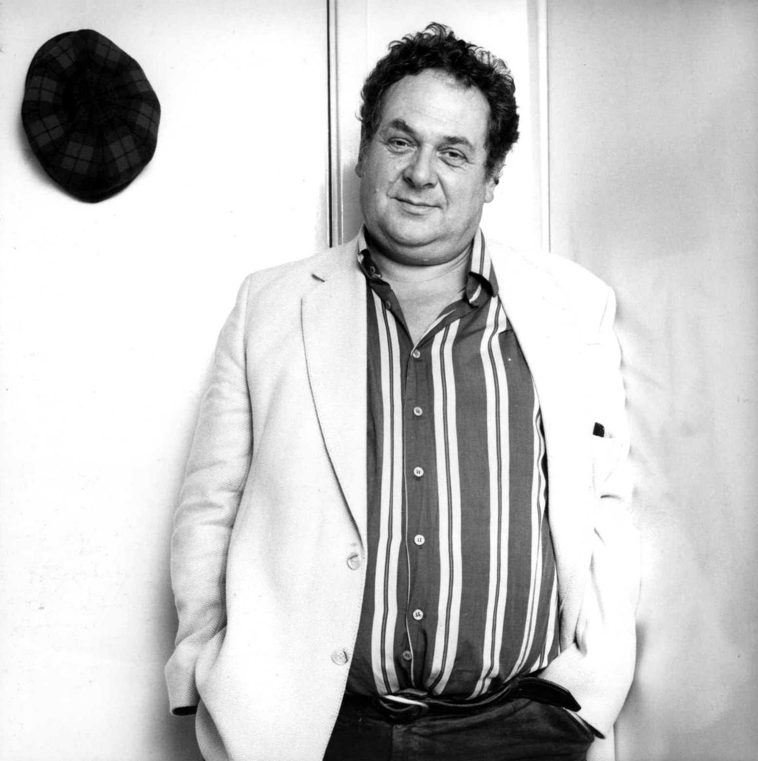 Jeff Nuttall fotografiat per Ed Barber al Chelsea Arts Club (4 de novembre de 1985)