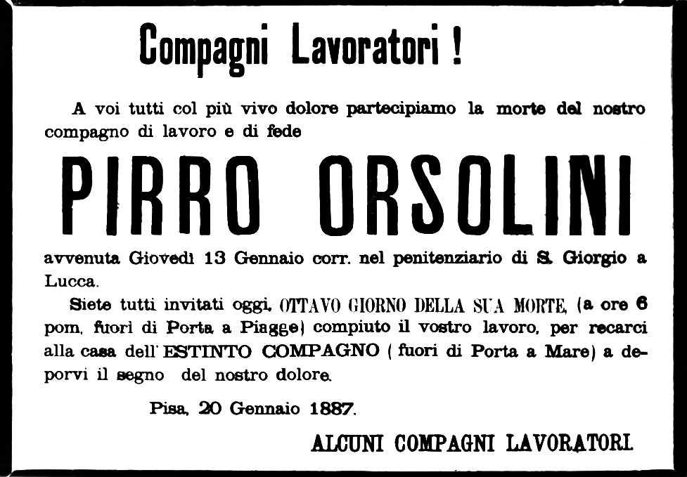 Notícia sobre l'acte d'homenatge a Pirro Orsolini