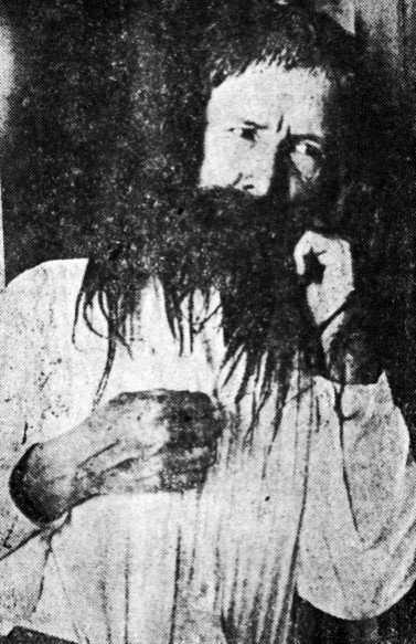 Biófilo Panclasta durant la seva detenció a Valencia (Veneçuela) en 1929