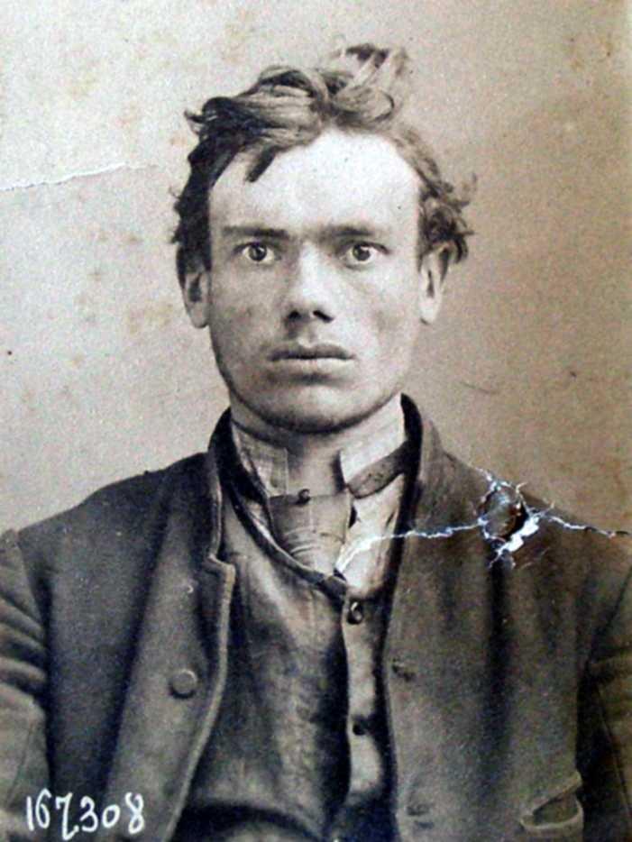 Foto policíaca de Joseph Paridaen