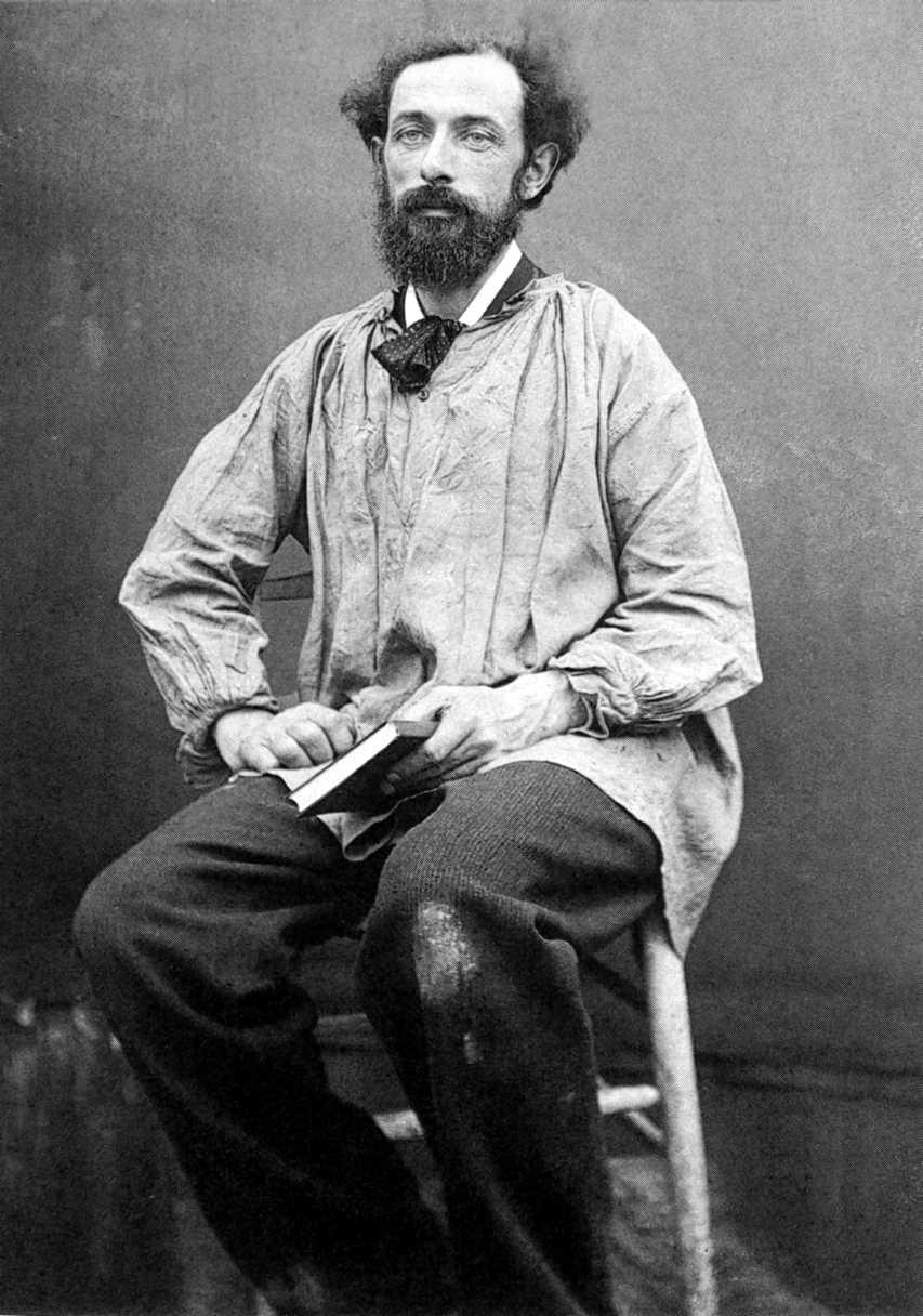 Autoretrat de Paul Reclus durant el seu exili a Anglaterra