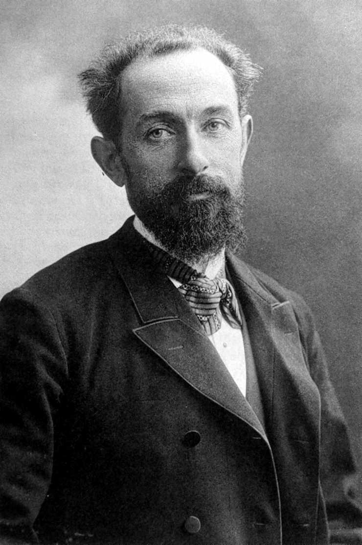 Paul Reclus fotografiat per Nadar (ca. 1906)