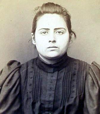 Foto policíaca de Luisa Pavón Muñoz (1894)