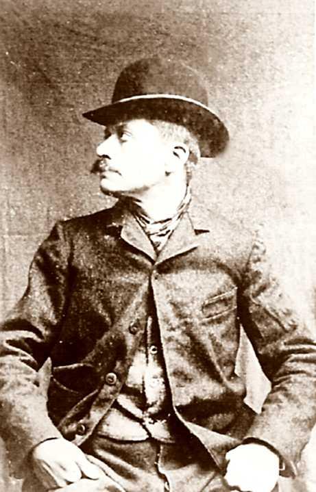 Léon Pélissard en una fotografia policíaca